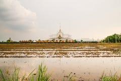 Τοπίο wat Ταϊλανδός στο chachoengsao Στοκ Εικόνες