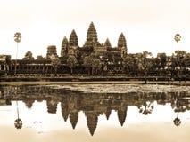 Τοπίο Wat Angkor Στοκ Εικόνα