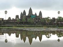 Τοπίο Wat Angkor Στοκ Φωτογραφία