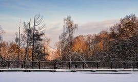 τοπίο wiinter Στοκ Φωτογραφία