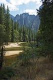 Τοπίο Yosemite Στοκ φωτογραφίες με δικαίωμα ελεύθερης χρήσης