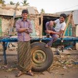Τοπικά ινδικά άτομα Στοκ φωτογραφία με δικαίωμα ελεύθερης χρήσης