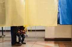 Τοπικές εκλογές στην Ουκρανία Στοκ Εικόνα
