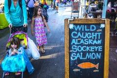Τοπική αγορά αγροτών - κύριο άρθρο Στοκ Φωτογραφίες
