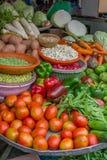 Τοπική αγορά του Βιετνάμ Στοκ Φωτογραφία