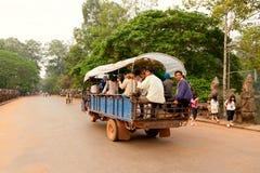 Τοπική μεταφορά στην Καμπότζη Στοκ εικόνα με δικαίωμα ελεύθερης χρήσης