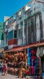 τοπική οδός αγοράς Στοκ φωτογραφία με δικαίωμα ελεύθερης χρήσης