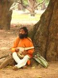 Τοπικό άτομο στην Ινδία Στοκ φωτογραφία με δικαίωμα ελεύθερης χρήσης