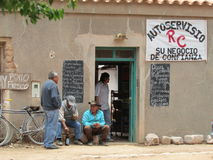 Τοπικό παντοπωλείο στοκ φωτογραφία με δικαίωμα ελεύθερης χρήσης