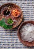 Τοπικό πρόχειρο φαγητό Kriab Yana Khao της απαγόρευσης Nam Chiao, Trat, στρεπτόκοκκος της Ταϊλάνδης στοκ εικόνες με δικαίωμα ελεύθερης χρήσης