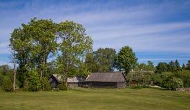Τοπικό σπίτι σε Saaremaa Στοκ φωτογραφία με δικαίωμα ελεύθερης χρήσης