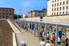 Τοπογραφία του Βερολίνου του τρόμου στοκ φωτογραφίες