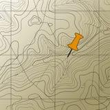 τοπογραφία χαρτών ανασκόπη Στοκ εικόνα με δικαίωμα ελεύθερης χρήσης