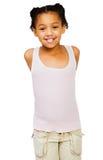 τοποθέτηση κοριτσιών αφρ&omi Στοκ φωτογραφία με δικαίωμα ελεύθερης χρήσης