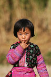 Τοποθέτηση κοριτσιών Hmong Στοκ φωτογραφία με δικαίωμα ελεύθερης χρήσης