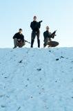 τοποθέτηση πυροβόλων όπλ&omeg Στοκ φωτογραφίες με δικαίωμα ελεύθερης χρήσης