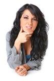 τοποθέτηση της γυναίκας &p στοκ φωτογραφία με δικαίωμα ελεύθερης χρήσης