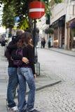 τοποθέτηση φωτογραφιών Στοκ φωτογραφία με δικαίωμα ελεύθερης χρήσης