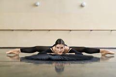 Τοποθέτηση Ballerina στην αίθουσα χορού Στοκ Εικόνες