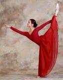Τοποθέτηση Ballerina Στοκ Φωτογραφίες