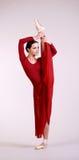 Τοποθέτηση Ballerina Στοκ φωτογραφίες με δικαίωμα ελεύθερης χρήσης