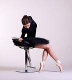 Τοποθέτηση Ballerina Στοκ Εικόνες