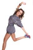τοποθέτηση brunette προκλητική Στοκ φωτογραφία με δικαίωμα ελεύθερης χρήσης