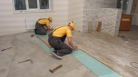 Τοποθέτηση floorboard