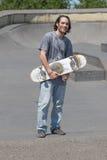 Τοποθέτηση Hunk με skateboard του Στοκ εικόνα με δικαίωμα ελεύθερης χρήσης