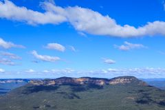 Τοποθετήστε απόμερο στα μπλε βουνά, Νότια Νέα Ουαλία, Αυστραλία στοκ φωτογραφίες με δικαίωμα ελεύθερης χρήσης