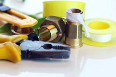 Τοποθετήστε για τους υδραυλικούς στοκ εικόνες
