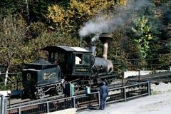Τοποθετήστε την ατμομηχανή σιδηροδρόμων βαραίνω της Ουάσιγκτον στοκ εικόνες