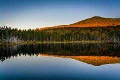 Τοποθετήστε την εξαπάτηση που απεικονίζει σε μια λίμνη στο άσπρο βουνό εθνικό Στοκ φωτογραφία με δικαίωμα ελεύθερης χρήσης