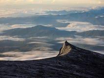 Τοποθετήστε τη νότια αιχμή Kinabalu στην ανατολή, Sabah, Μαλαισία Στοκ εικόνα με δικαίωμα ελεύθερης χρήσης