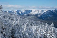 Τοποθετήστε τη χιονισμένη σύνοδο κορυφής Αλβέρτου στοκ φωτογραφίες
