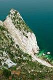 Τοποθετήστε τον απότομο βράχο Conero, Marche, Ιταλία Στοκ φωτογραφία με δικαίωμα ελεύθερης χρήσης