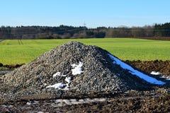 Τοποθετήστε το αμμοχάλικο Στοκ εικόνα με δικαίωμα ελεύθερης χρήσης