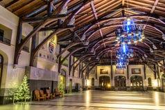 Τοποθετήστε το βασιλικό εσωτερικό σαλέ Στοκ Εικόνα