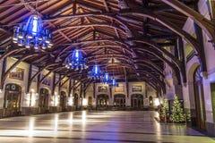 Τοποθετήστε το βασιλικό εσωτερικό σαλέ Στοκ φωτογραφία με δικαίωμα ελεύθερης χρήσης