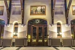 Τοποθετήστε το βασιλικό εσωτερικό σαλέ Στοκ Φωτογραφίες