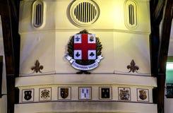 Τοποθετήστε το βασιλικό εσωτερικό σαλέ Στοκ εικόνες με δικαίωμα ελεύθερης χρήσης