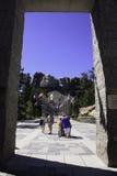 Τοποθετήστε την εθνική αναμνηστική νότια Rushmore Ντακότα Στοκ Εικόνες