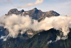 Τοποθετήστε το εθνικό πάρκο Kinabalu, Sabah Μπόρνεο Στοκ Φωτογραφίες