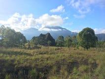 Τοποθετήστε το ηφαίστειο Batur Στοκ Φωτογραφία