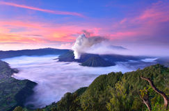 Τοποθετήστε το ηφαίστειο Bromo Στοκ φωτογραφία με δικαίωμα ελεύθερης χρήσης
