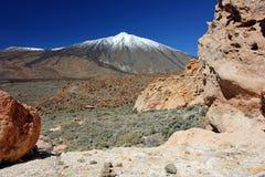 Τοποθετήστε το ηφαίστειο Tenerife, Κανάρια νησιά Teide Στοκ φωτογραφία με δικαίωμα ελεύθερης χρήσης