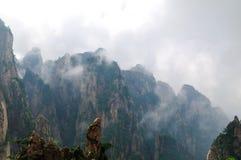 Τοποθετήστε το μεγάλο φαράγγι Huangshan Xihai, απίστευτη Κίνα Στοκ Εικόνα