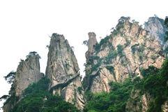 Τοποθετήστε το μεγάλο φαράγγι Huangshan Xihai, απίστευτη Κίνα Στοκ Εικόνες