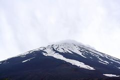 Τοποθετήστε το τοπίο του Φούτζι Φούτζι Ιαπωνία Κινηματογράφηση σε πρώτο πλάνο της ΑΜ Φούτζι στοκ εικόνα