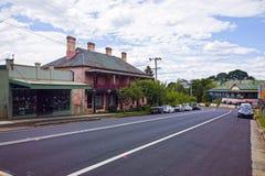 Τοποθετήστε το του χωριού κέντρο Βικτώριας στα μπλε βουνά, Αυστραλία Στοκ φωτογραφία με δικαίωμα ελεύθερης χρήσης